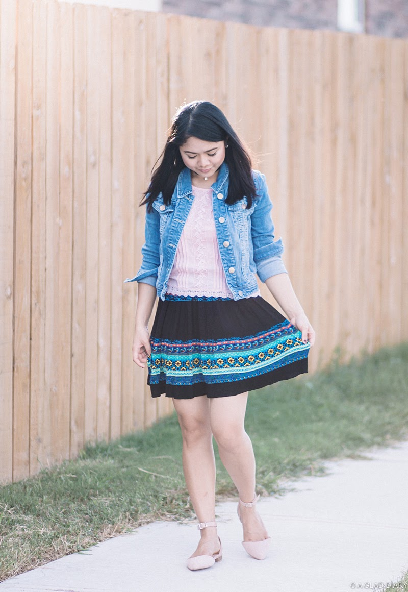 petite summer outfit