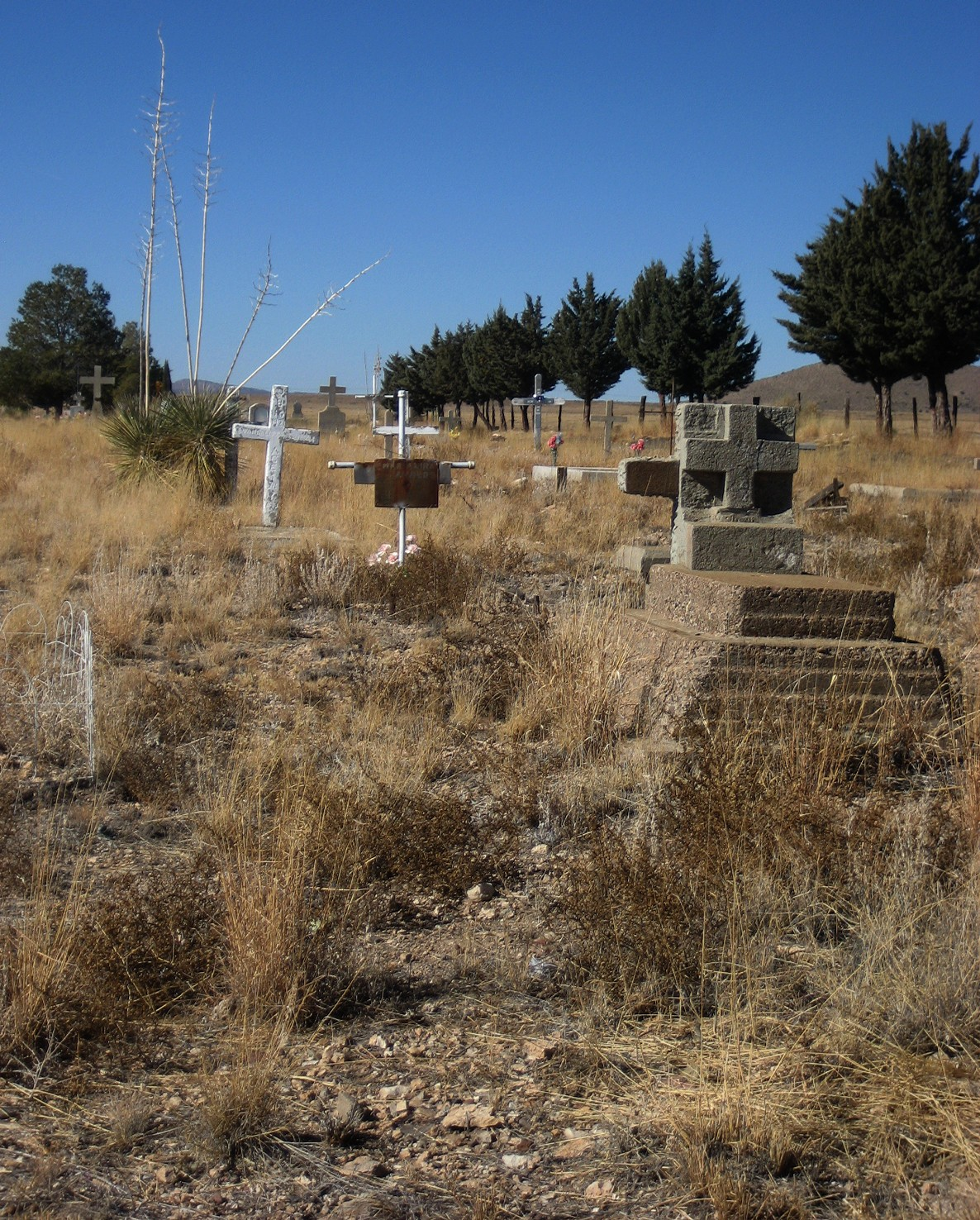 Living Rootless: Hurley, New Mexico: Cemetery