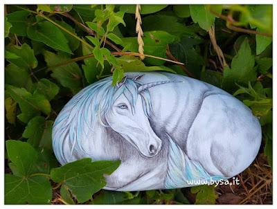 Unicorno dipinto