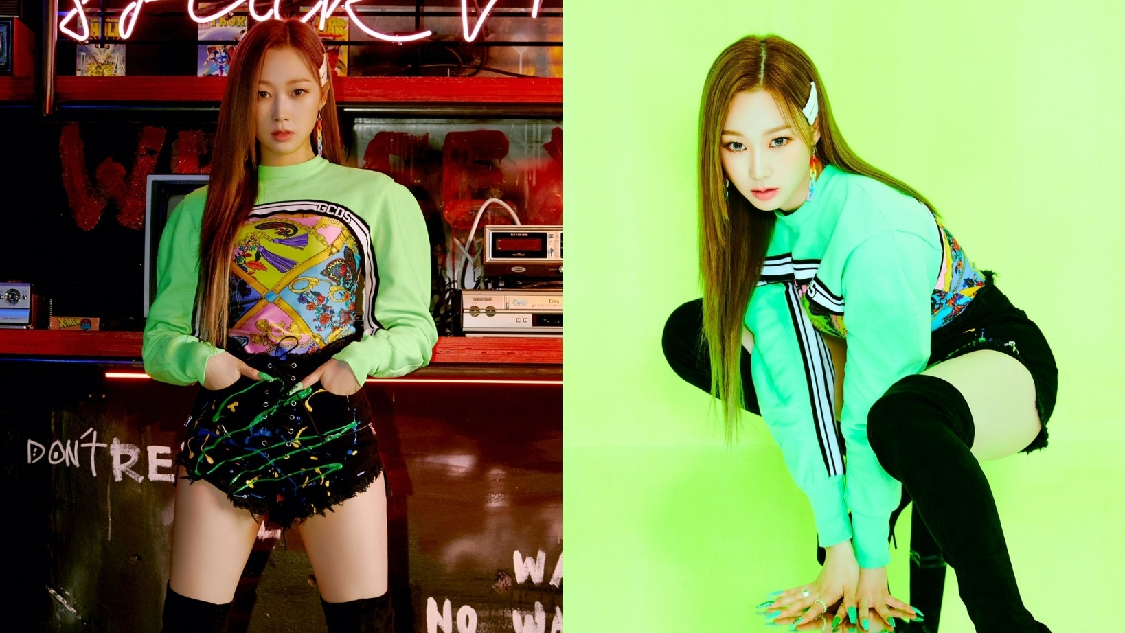 aespa's Giselle Shows Her Beauty On 'Black Mamba' Debut Teaser