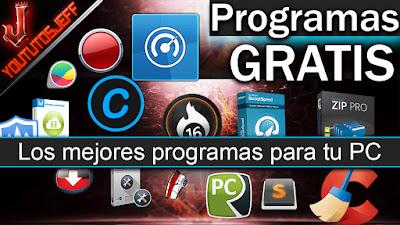 programas gratis, descargar programas gratis, yoututosjeff