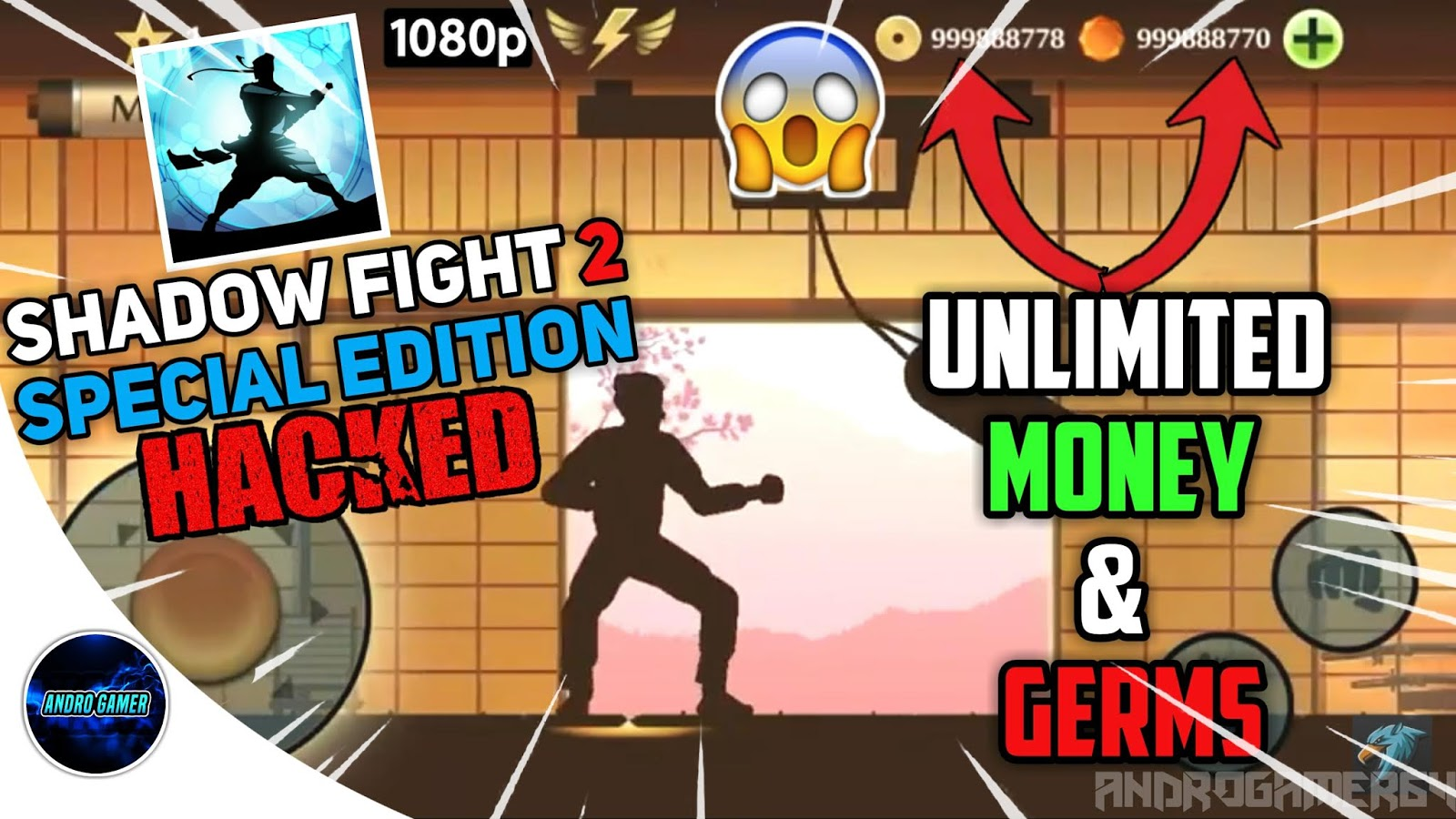shadow fight 2 special edition apk mod hack 2019