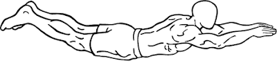 Exercise for Tight and  Flat Abdomin : Superman exercise