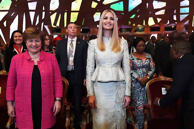 Metallic Marvel and Ivanka Trump