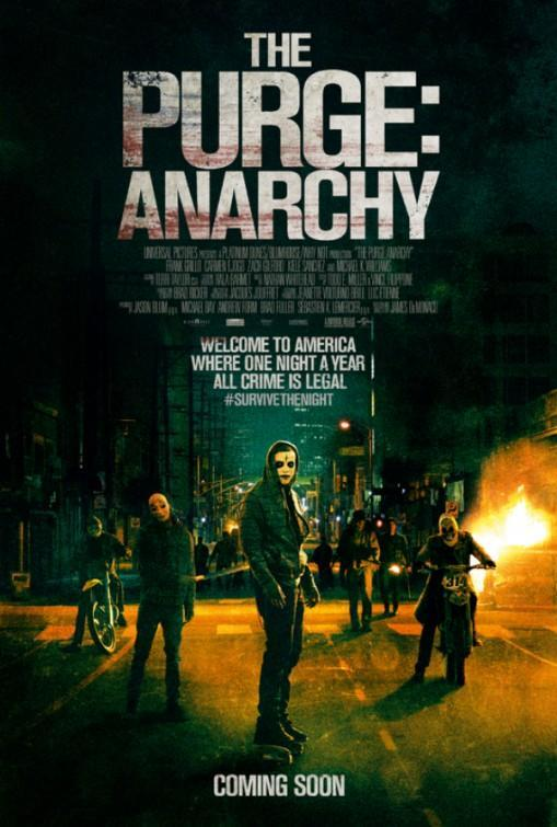 Download The Purge Anarchy (2014) Full Movie in Hindi Dual Audio BluRay 720p [1GB]