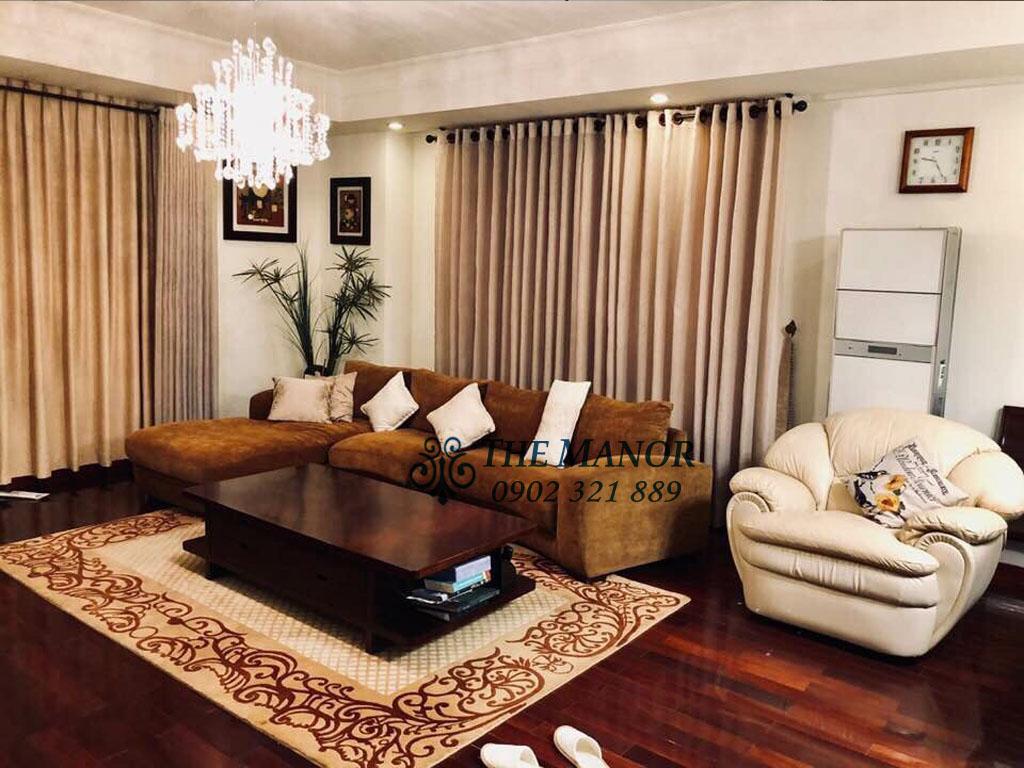 3 phòng ngủ cho thuê The Manor căn hộ 163m2 nội thất đẹp