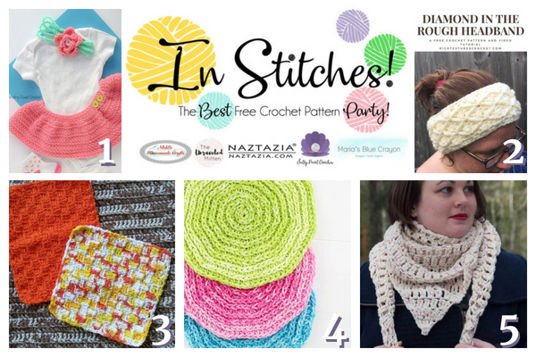 Best Free Crochet Patterns In Stitches Link Up Party 17 Marias