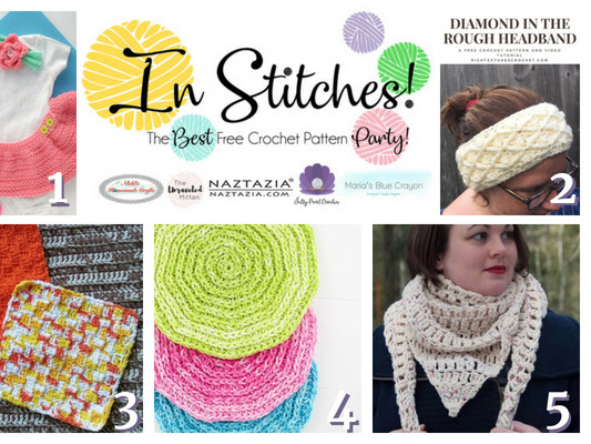Best Free Crochet Patterns - In Stitches Link Up Party #17