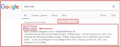 Cara Mendaftarkan Blog ke Google Webmaster Tools atau Search Console