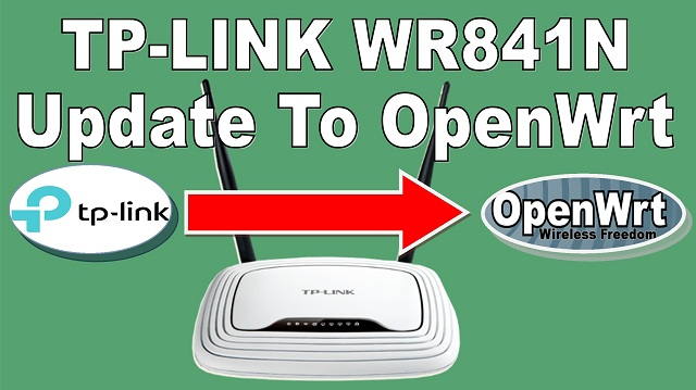 tp-link tl-wr841n openwrt upgrade