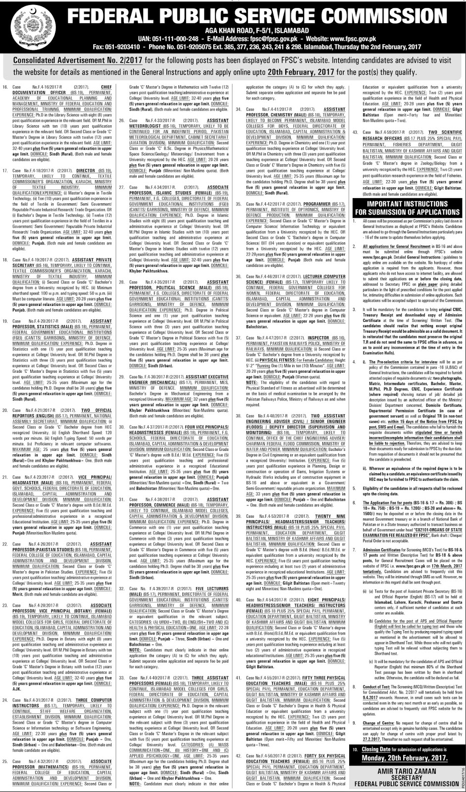 230+ Lecturers, Headmaster, Headmistress and Other Jobs in