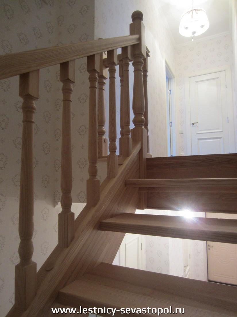 Деревянные лестницы на второй этаж цены