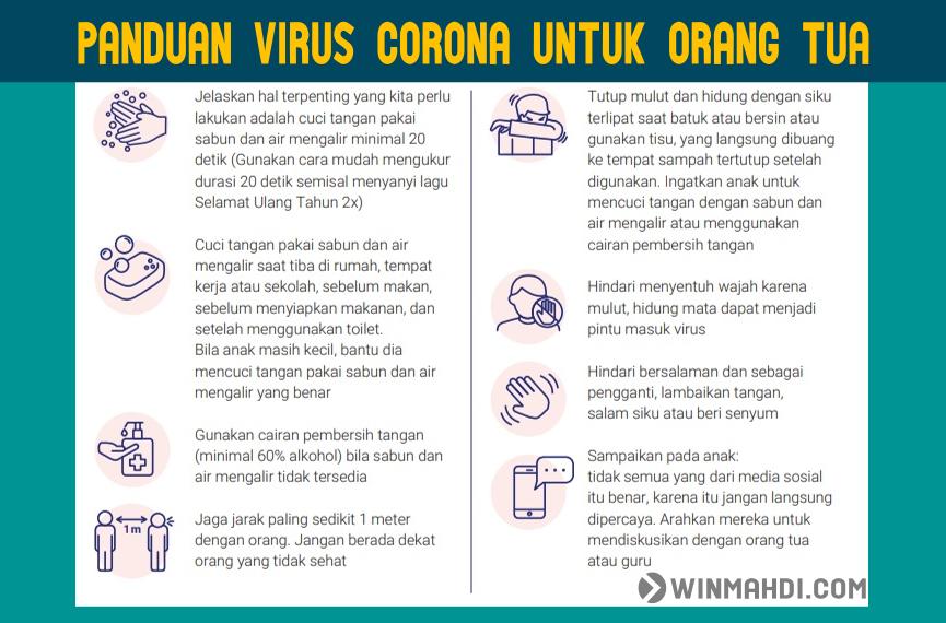 Panduan Virus Corona Untuk Orang  Tua