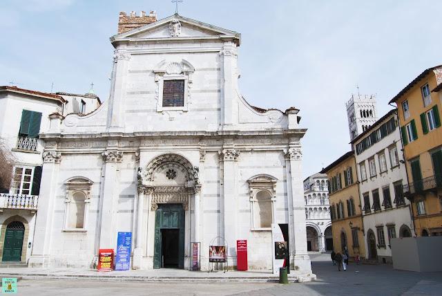 Iglesia dei Santi Giovanni e Reparata en Lucca, Toscana