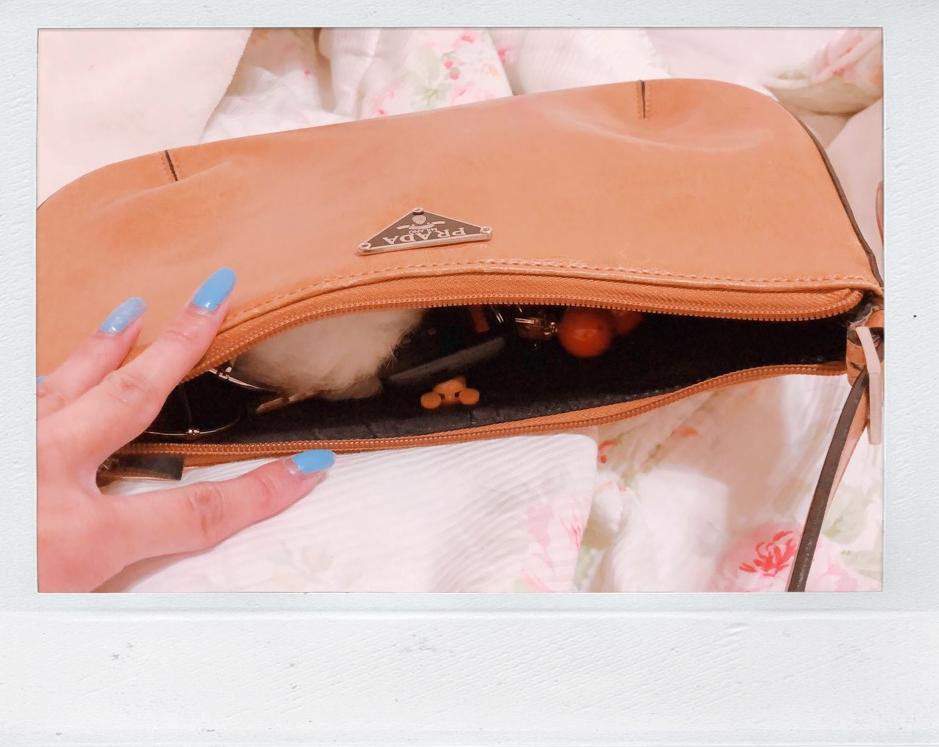 What's in my Prada bag?
