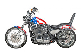 captain america 72 sportster by shaw hd side left
