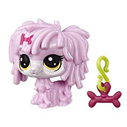 LPS Series 5 Lucky Pets Fortune Cookie Coco Rose (#No#) Pet