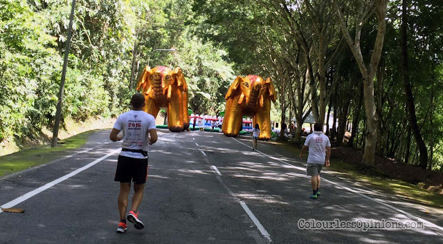 giant elephant inflatables dragon run malaysia 2016