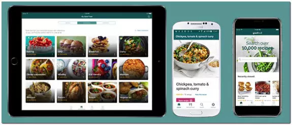 Cooking apps iphone, android, ios, food recipe