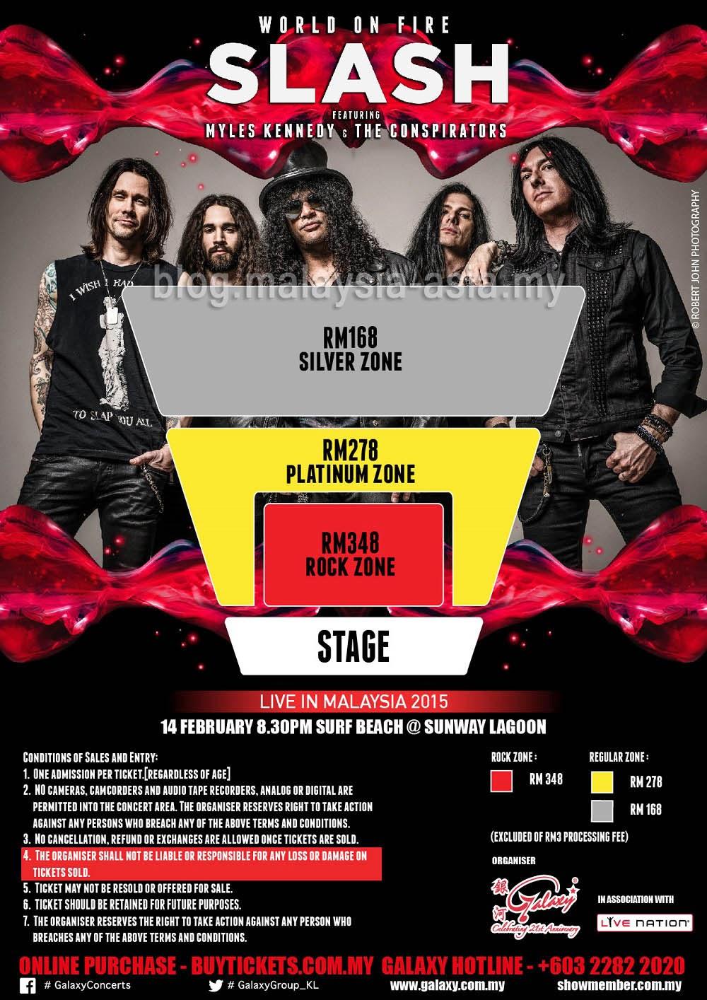 Malaysia Slash Concert