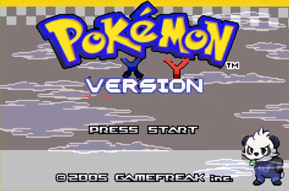 Pokemon X e Y Emerald para GBA Imagen Portada