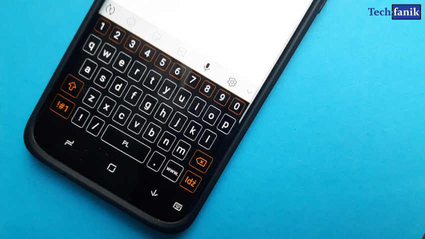 Samsung motywy zmiana wyglądu klawiatury