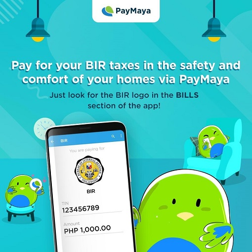 How to Pay BIR Tax using PAYMAYA