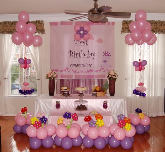 dekorasi ulang tahun sederhana terbaru
