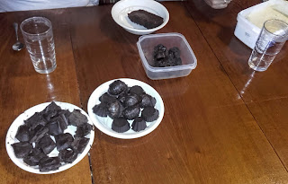 home made chocolates for Greek Easter in Cyprus