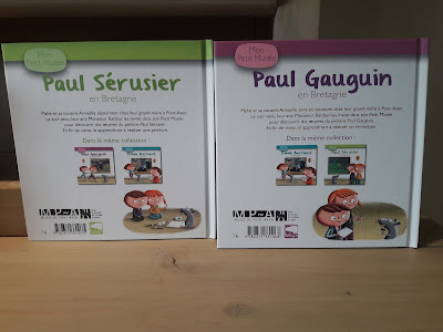verso livre pour enfant gauguin et paul sérusier