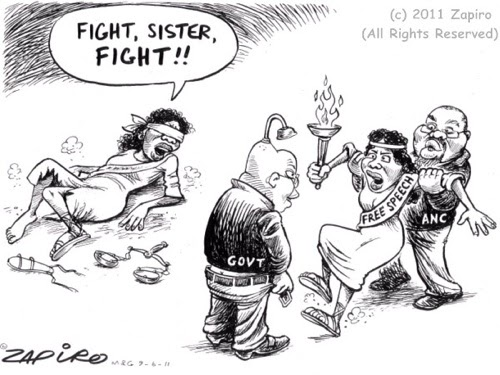 What is Happening in South Africa: Zapiro and Zuma