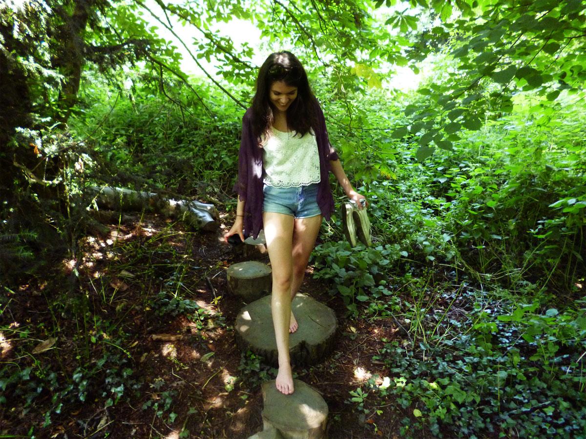 Kew Gardens Part 2: The Barefoot Walk & The Rose Garden ...