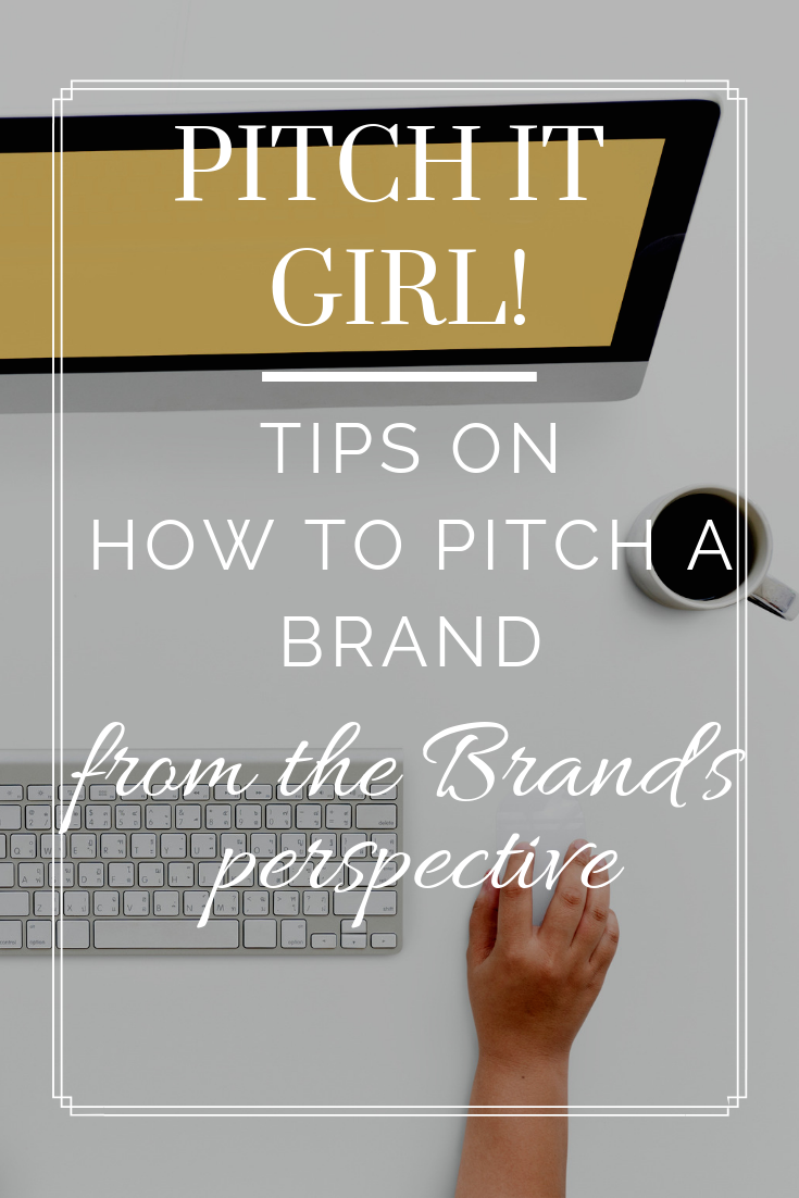 Tips on How to Pitch a Brand From the Brand's Perspective