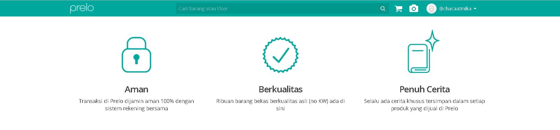 Jual Beli Barang Bekas yang Berkualitas di Aplikasi Prelo