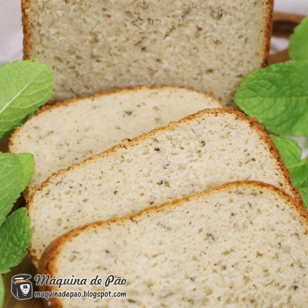 Pão de Iogurte e Hortelã