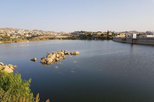 حديقة بحيرة السد