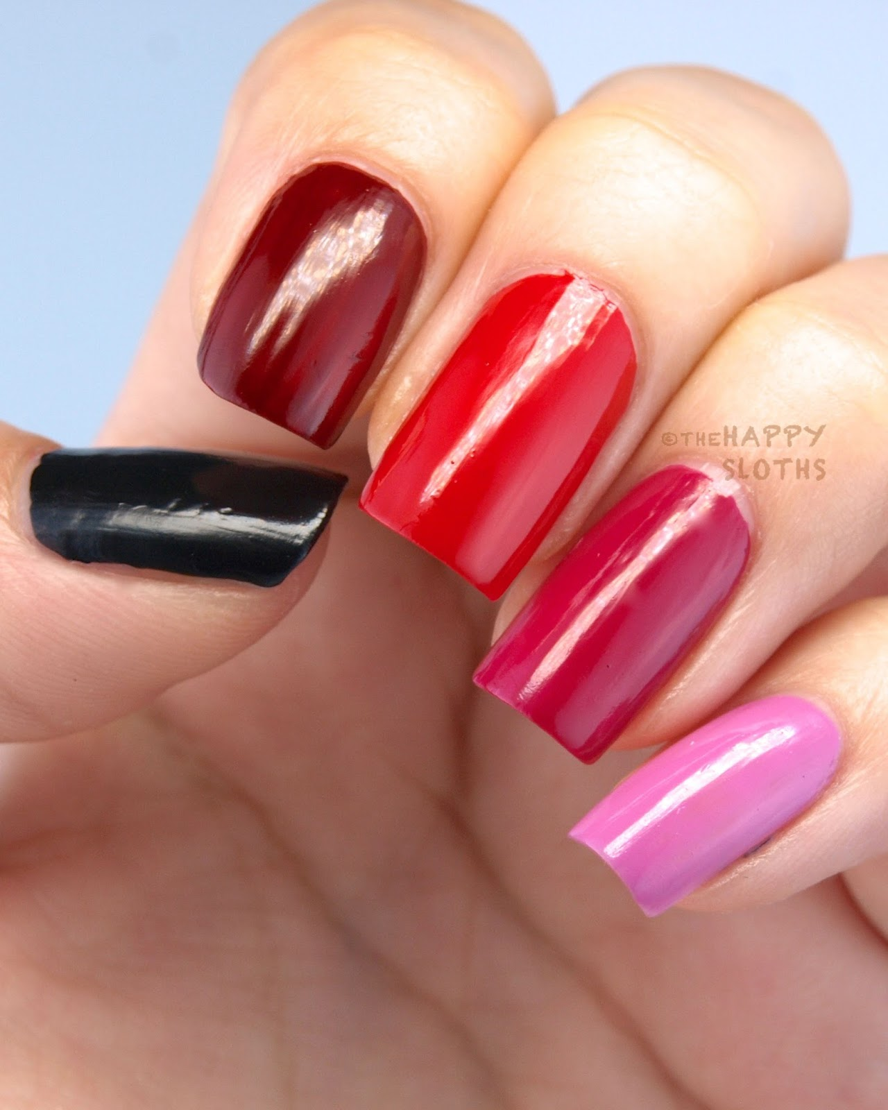 Formula X Paint The Town 22 Piece Mini Nail Polish Set Review And Swatches The Happy Sloths