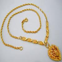 mimpi dapat kalung emas