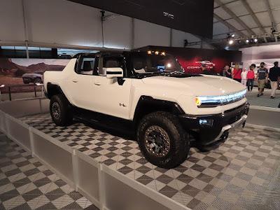 Hummer EV at Car  Show