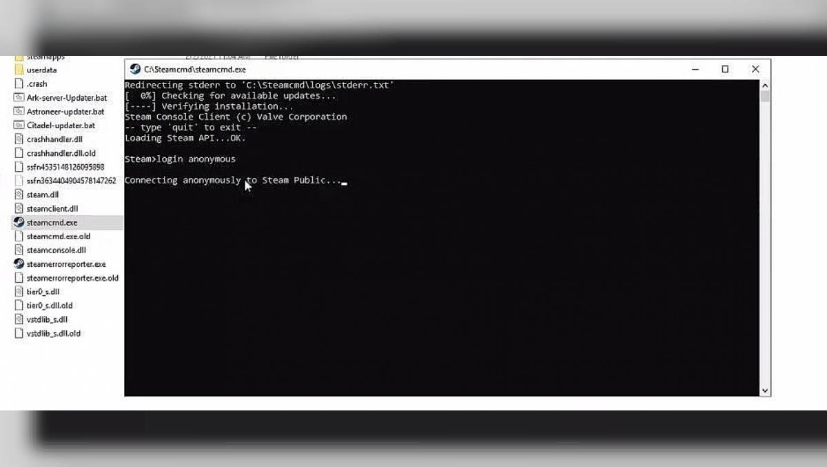 How to download and install SteamCMD