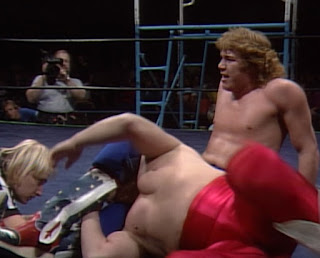 NWA Starrcade 1986 (The Skywalkers) - Sam Houston battled Bill Dundee