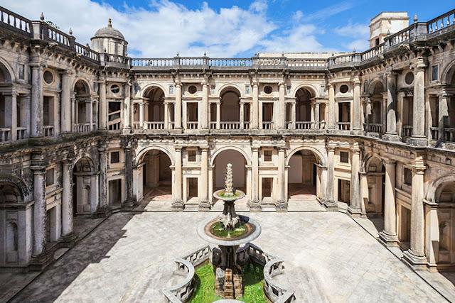 Castelo dos Templários em Portugal