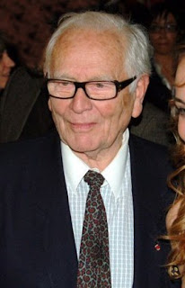 Pierre Cardin, pictured in 2009