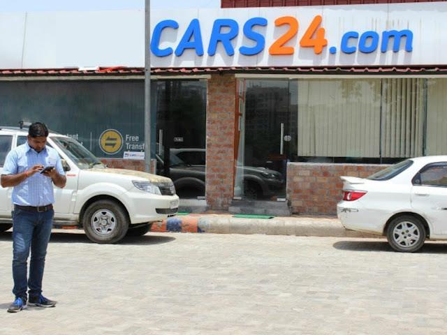 Indian Startup Success Stories car24