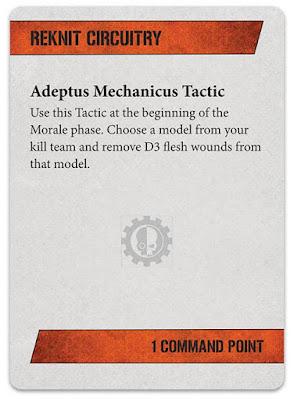 Tácticas kill team Adeptus Mechanicus