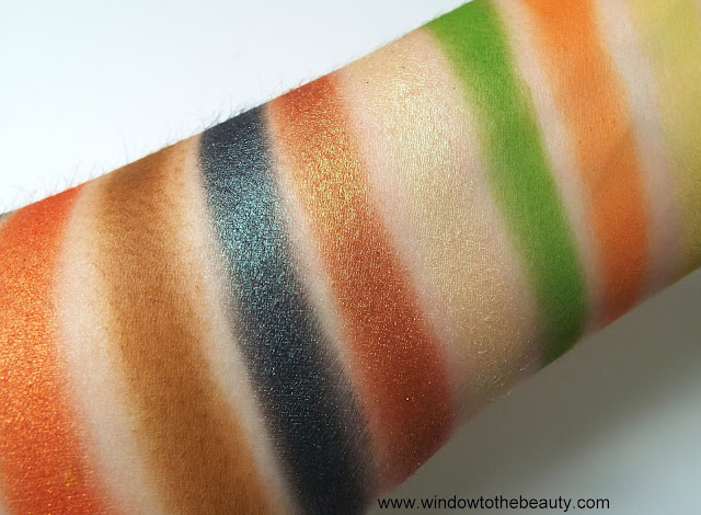 Juvia's tribe shades swatches