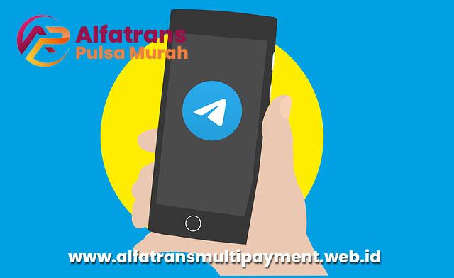 Cara Transaksi Alfafarans Pulsa Murah Via Telegram