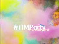 Logo TIM Party: voucher cinema come premio sicuro e non solo