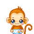monos divertidos minigifs