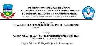 Contoh SK Aman Sekolah untuk TK/Paud/SD/SMP/SMA